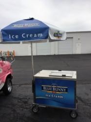 An ice cream cart.