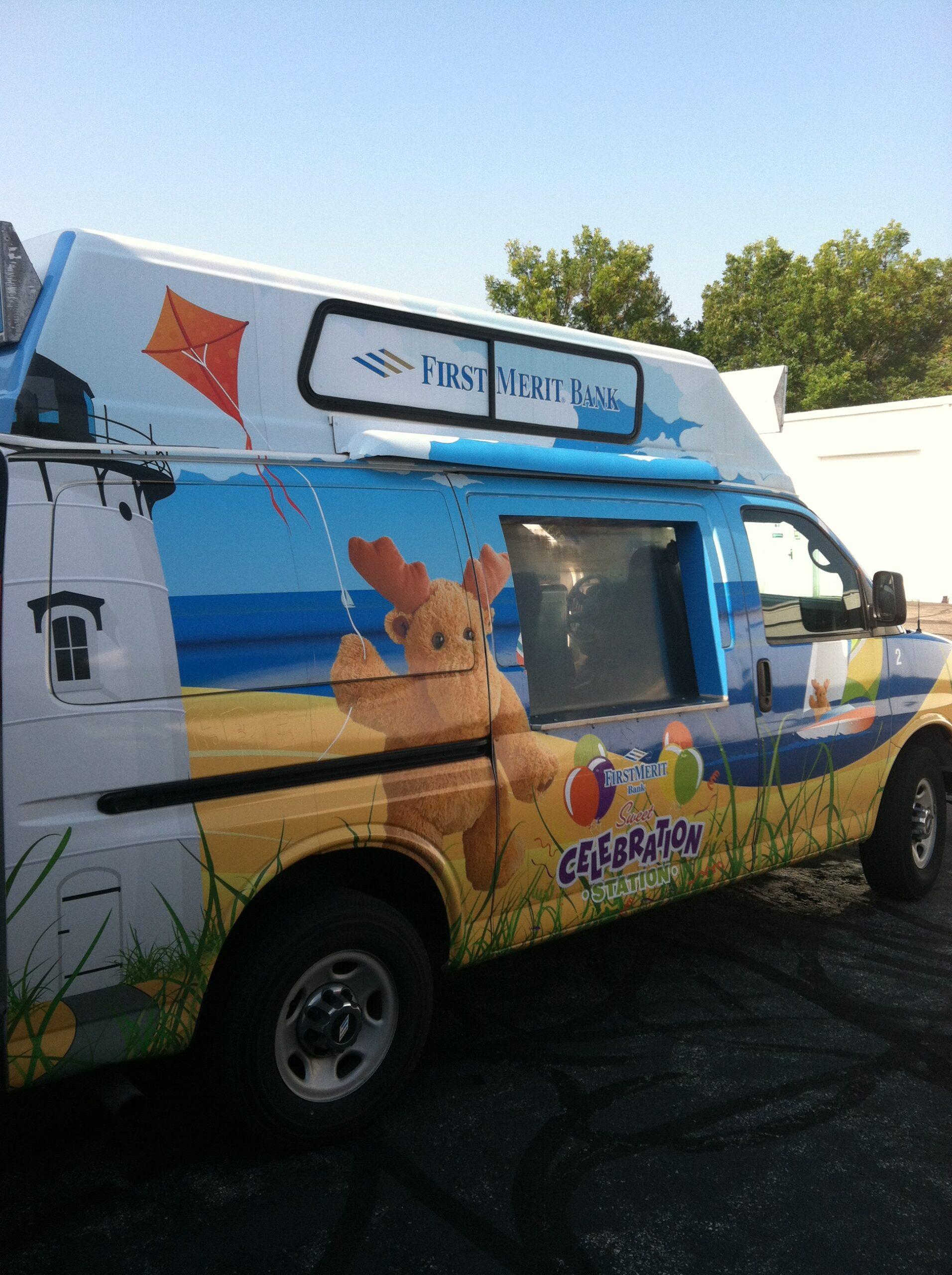 Progressive ice cream truck marketing